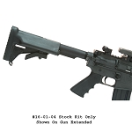Choate AR15 / M16 Telescoping Collapsible Stock Kit