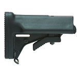 Choate M-16 / AR-15 Telescoping Collapsible MIL-SPEC Stock Only (No Spring, Tube or Buffer)