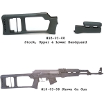 Choate MAK-90 / AK-47 Dragunov Stock And Upper & Lower Handguard - For Stamped Receiver