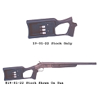 Choate Tamer Buttstock 12 Gauge Model (holds 3 shells)
