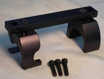 S&K Small Ring Mauser Scope Mount  w/ S&K Style 1 Inch Rings
