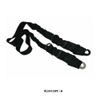 GunTec GEN3 Two Point / One Point Conversion Sling - Black