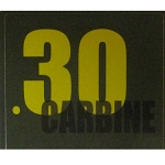 Ammo Can Sticker .30 Carbine - Yellow Standard 30Cal