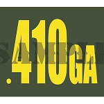 Ammo Can Magnet .410GA  - Yellow Standard .30Cal