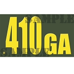 Ammo Can Magnet .410GA  - Yellow Standard .50Cal