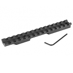 EGW UNDRILLED Savage 93 (1-5/8 Inch Ejection Port) Picatinny Rail Scope Mount 0 MOA Ambidextrous