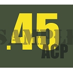 Ammo Can Magnet .45ACP - Yellow Standard .30Cal