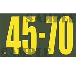Ammo Can Magnet .45-70 - Yellow Standard .50Cal
