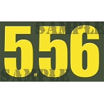 Ammo Can Magnet 5.56 - Yellow Standard .50Cal