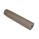 GunTec AR .308 & .300 AAC Blackout 5.5 Inch Fake Suppressor FDE