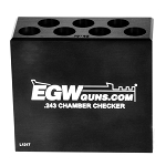 EGW Ammo Chamber Checker .243 7 Hole