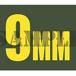 Ammo Can Magnet 9mm  - Yellow Standard .30Cal