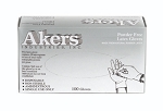 Akers Latex Low Protein Exam Gloves