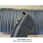 AK-47 30 Round Grey Steel Magazine -Grade 2 Some corrosion on back locking tab of mag spine- Restricted Item -Check Your Local and State Laws Prior To Ordering