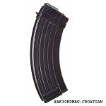 AK-47 Croatian 30 Round Steel Magazine With Bolt Hold Open -Restricted Item -Check Your Local and State Laws Prior To Ordering