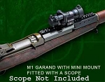 Mini Scout Mount for M1 Garand