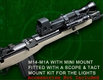Amega Ranges M14 M1A Rifle Mini Scout Mount