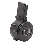 AR-15 .223 / 5.56 50 Round Polymer Drum - Black -Restricted Item -Check Your Local and State Laws Prior To Ordering