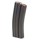 ASC AR-15 30 Round Stainless Steel Magazine-Orange Follower - Restricted Item - Check Your Local and State Laws Prior To Ordering