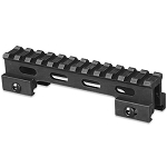 Lion Gears Tactical Picatinny 1 Inch Riser, 5 Inch Long w/12 Slots
