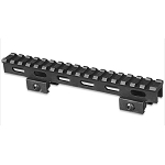 Lion Gears Tactical Picatinny 1 Inch Riser, 7 Inch Long w/17 Slots