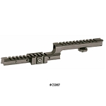 Command Arms Carry Handle Mounted Rail With Forward Rail