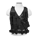 Vism Youth Tactical Vest - Black