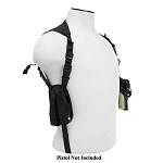 NcStar Ambidextrous Horizontal Shoulder Holster / Double Magazine Holder