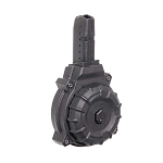 Promag AR-15 9mm Glock Style Mag 50 Round Black Polymer Drum - Restricted Item -Check Your Local and State Laws Prior To Ordering