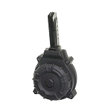 Promag Smith & Wesson Shield 9mm 50 Round Black Polymer Drum -Restricted Item -Check Your Local and State Laws Prior To Ordering