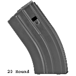 Duramag AR-15 7.62 X 39 20 Round Stainless Steel Mag  -Restricted Item -Check Your Local and State Laws Prior To Ordering