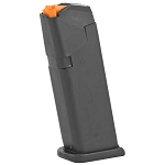 Glock 19 9mm 15 Round Gen 5 OEM Magazine With Orange Follower  - Restricted Item - Check Your Local and State Laws Prior To Ordering