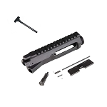 GunTec AR-15 Billet Upper Receiver Complete With Charging Handle, Forward Assist, and Ejection Door Assembly