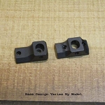 S&K Remington SKulptured Scope Mount Bases (Rings NOT Included)
