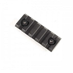 GunTec 2 Inch Removable Keymod Accessory Rail