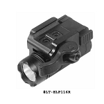 UTG Tactical Super-compact Pistol Flashlight w/16mm CREE R2 LED & Integral QD Mount