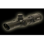 SNIPER Advanced Tactical 30MM 1-4X28 Combat Scope with Glass Red/Green/Blue Illuminated Range Finding Mil-dot Reticle, 5