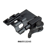 UTG Tri-Rail / Single Slot Angle Mount w/QD Lever Mount