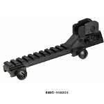 UTG A2 Rear Sight Assembly with Integral Riser Mount