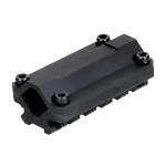 UTG Universal Single Rail Rifle Barrel Mount, 5 Slots