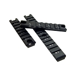 UTG G36 Picatinny Rail Set, 1 Long/2 Short Rails