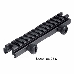 UTG Low-profile Full Size Riser Mount, 0.5 Inch High, 13 Slots