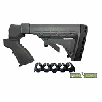 Phoenix Tech Field Series Mossberg Tactical Stock 12 ga-  (No Recoil Reduction System and No Forend) - Black
