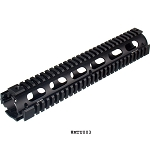 UTG PRO Model 4 / AR-15 Rifle Length Drop-in Quad Rail Black