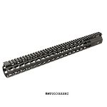 UTG PRO Keymod Compact M&P10 & DPMS Low Profile LR-308 17 Inch Super Slim Free Float Rail
