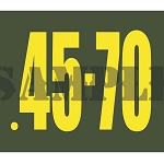 Ammo Can Magnet 45-70 - Yellow Standard .30Cal