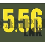 Ammo Can Magnet 5.56 LNK - Yellow Standard .30Cal