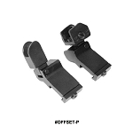 GenTec AR-15 45 Degree Offset Folding Sight Set