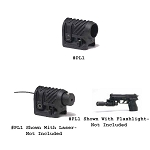 Command Arms 3/4 Inch Picatinny Rail Mount Black