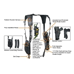 UTG Law Enforcement Vertical Shoulder Holster - Black